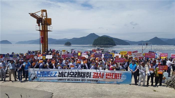 '2차 바닷모래 대란' 조짐…숨 죽인 해수부
