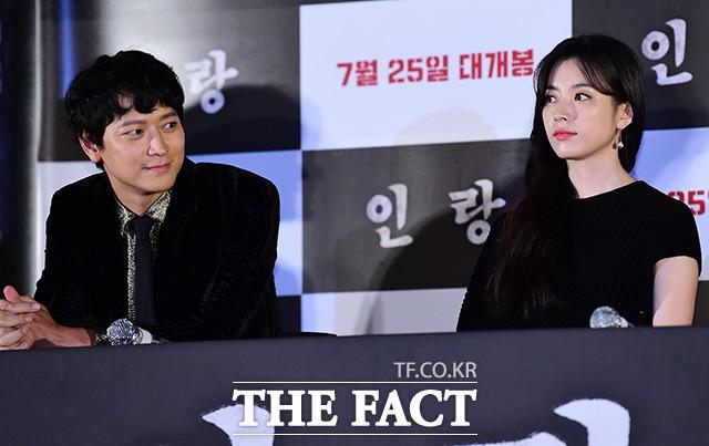 열애설 강동원-한효주 '어색한 우리 사이'