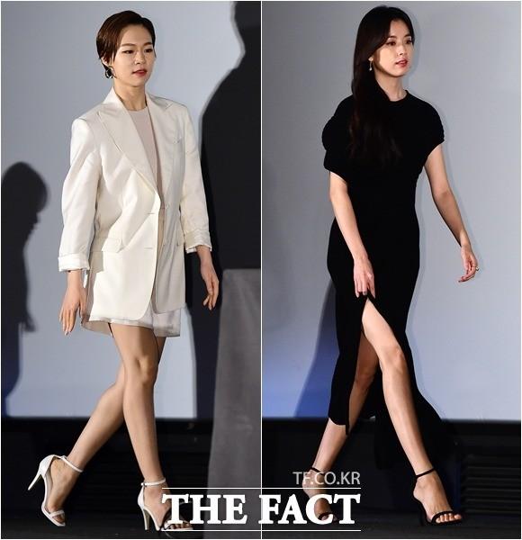 한예리-한효주, '대비되는 화이트&블랙 패션'