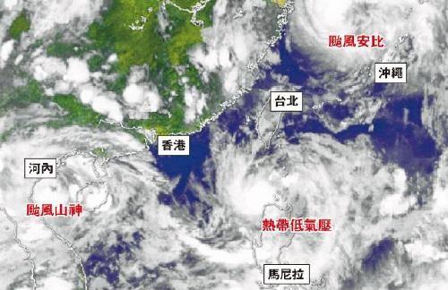 3개의 태풍이 에워싼 중국…곳곳서 폭우 피해 속출
