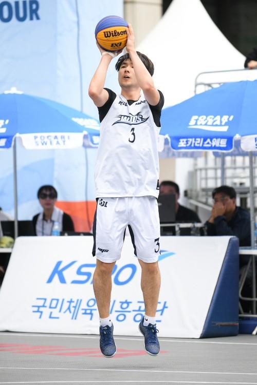 """'AG게임 도전' 김낙현 """"3X3 농구,매력포인트 많아… 금메달 위해 최선"""""""