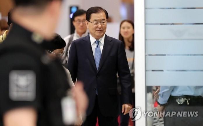 정의용-볼턴·강경화-품페이오, '北 비핵화' 동력살리기 분주