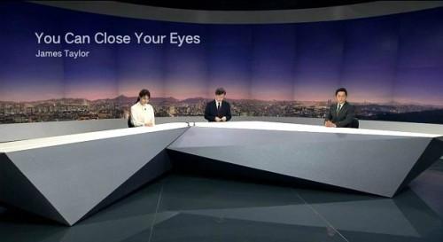 뉴스룸, 엔딩곡 'You Can Close Your eyes'로 노회찬 마지막길 추모
