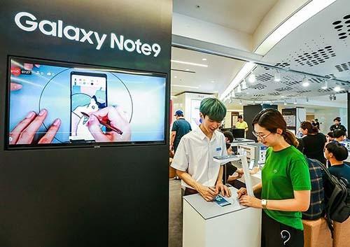 삼성·이통 3사 '갤노트9' 예약판매 돌입