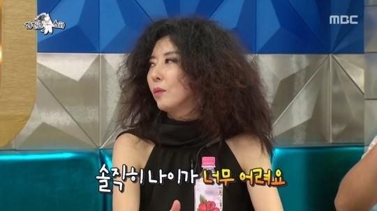 """'라디오스타' 김완선, """"9살 연하와 '썸' 타지만…너무 어리다"""""""