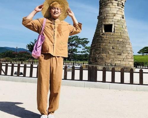 """'나혼자산다' 기안84, 경주 첨성대 앞에서 전한 시 한편 """"더워서 타죽는 줄"""" 폭소"""