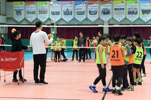 한국배구연맹, 작년에 이어 원포인트 클리닉 개최