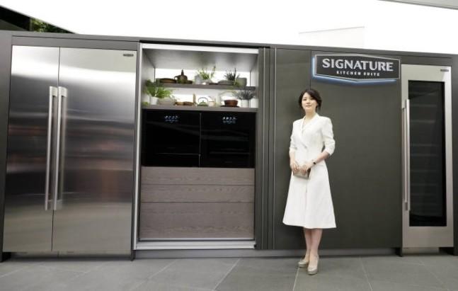 LG전자, 시그니처 키친 스위트 쇼룸 리모델링 완료...제품 구성 두 배 'UP'