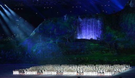 '아시아의 에너지', 자카르타 전역에… 아시안게임 본격 '팡파르'