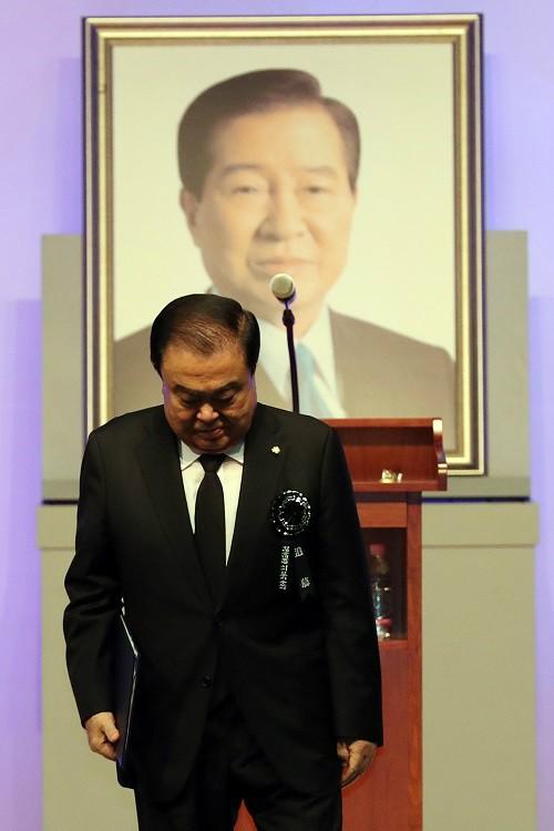 """文 의장 """"김대중 대통령은 평화의 상징…사무치게 그립다"""""""