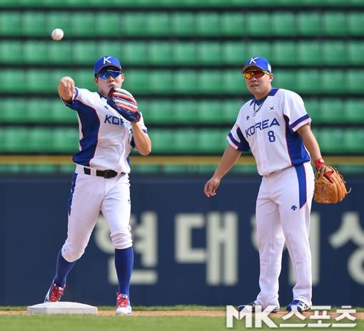 박민우-안치홍 `우리가 국가대표 2루수`