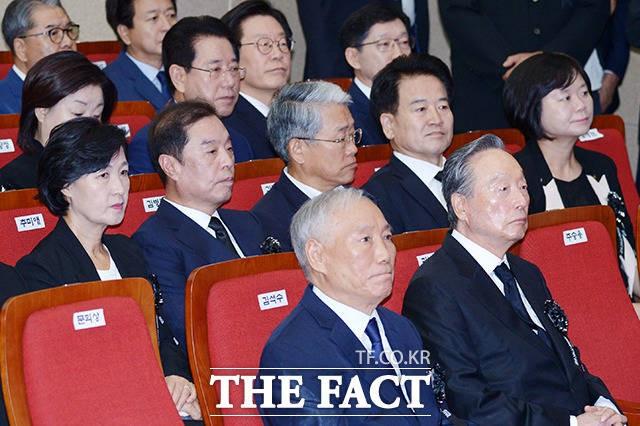 여·야대표 총출동…'김대중 전 대통령 서거 9주기 추도식'