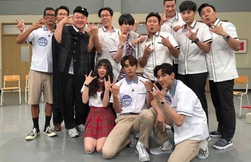 """'아는형님' 박준형·뱀뱀·루카스·우기, 출연 인증샷 """"외국인 특집"""""""