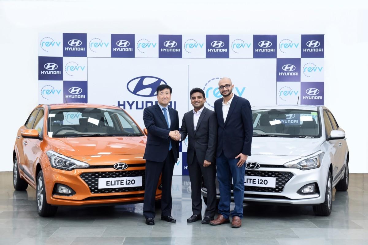 현대차, 인도 차량공유업체 '레브(Revv)'와 MOU…모빌리티 공략 가속