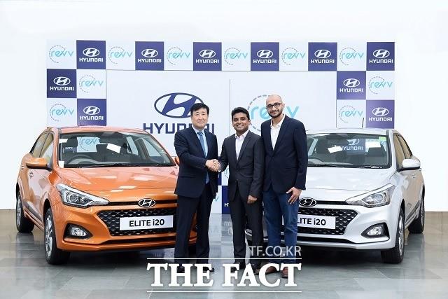 현대차, 인도 '레브' 전략 투자…현지 카셰어링 시장 첫 발판