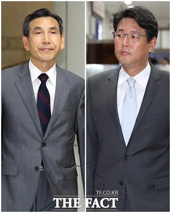 임관빈-김태효, '댓글 공작 관여 공판 참석'