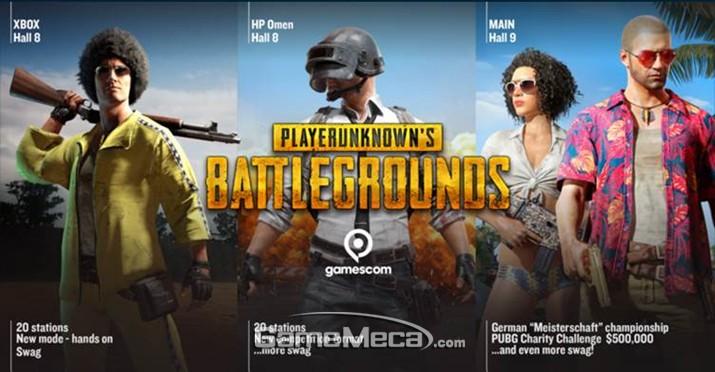 펍지, 게임스컴에서 '배그' Xbox One 신규 모드 공개