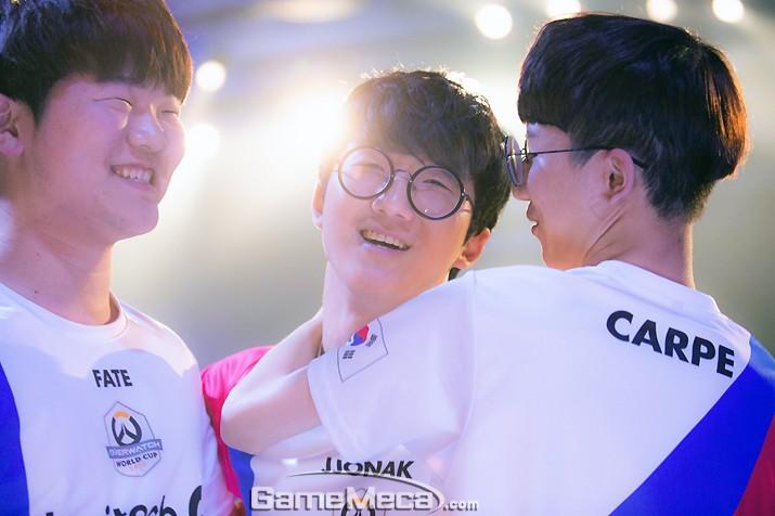 무패 행진, 한국 대표팀 '오버워치 월드컵' 조별 예선 1위