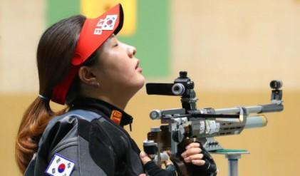 <2018 AG> 정은혜 사격 2번째 은메달 안겨…女 공기소총 10m서 中 자오뤄주에 석패
