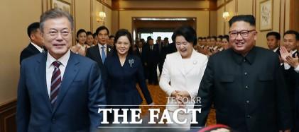 문재인 대통령 김정은 위원장