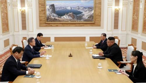 3+3 회담…남북 정상회담, 실질적 대화 '속전속결'