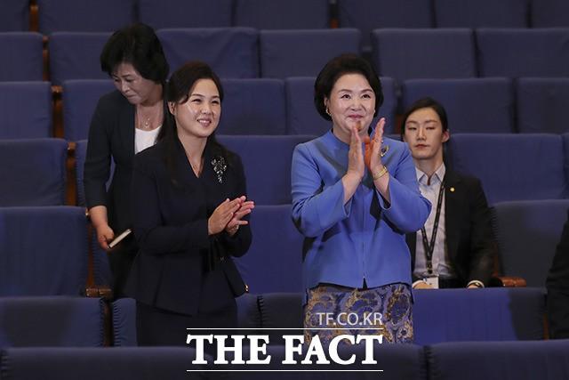 음악으로 하나된, 김정숙-리설주