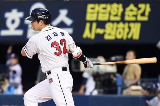 김재환, 아직 '홈런 성장판' 열려있다