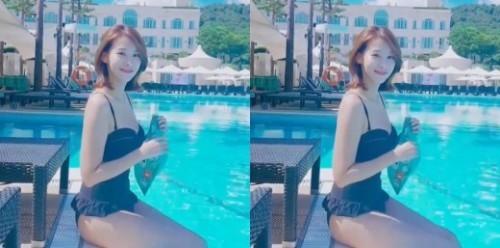 영화 '여교사' 유인영, 청순미 가득한 수영복 자태