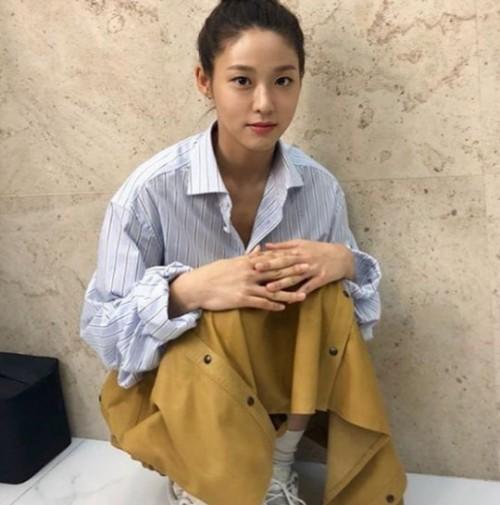 영화순위, '안시성' 설현, 비글미 넘치는 근황 '쭈글'