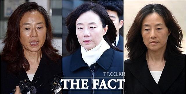 '석방' 조윤선 전 장관, 구속부터 출소까지 달라진 얼굴 변천사