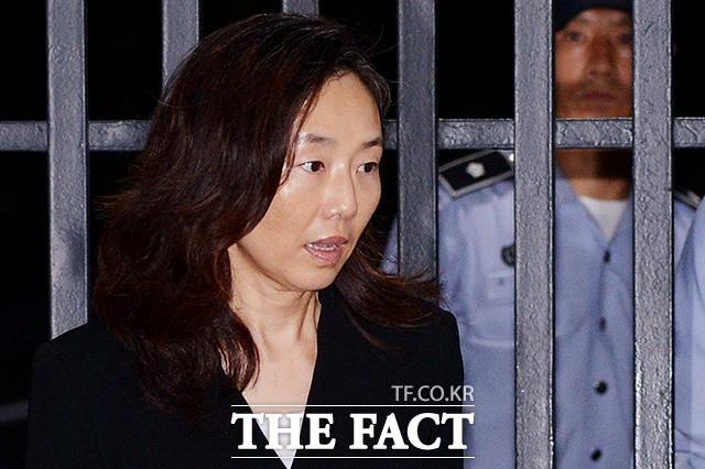 '구속 기간 만료' 석방된 조윤선 전 장관