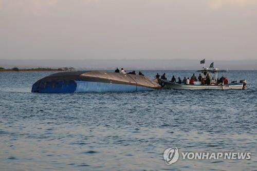 빅토리아 호수 여객선 전복 사고 '참사'…사망자 170으로