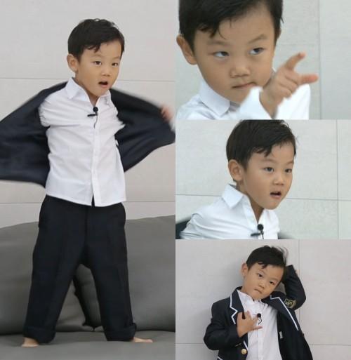 '슈퍼맨이 돌아왔다' 시안, 방탄소년단 '피땀눈물' 커버 댄스 도전