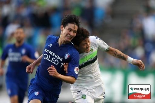 'ACL 리턴매치' 전북-수원, 득점 없이 0-0 무승부
