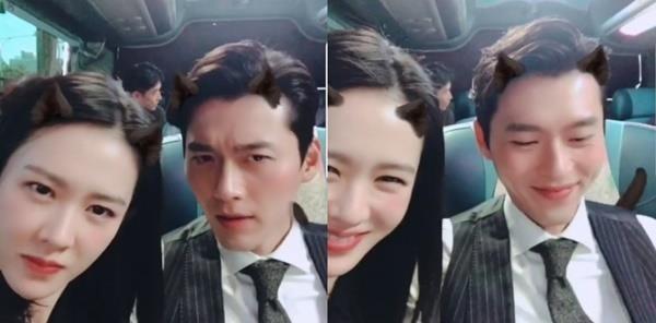 """""""추석엔 협상"""", 너무 귀여운 손예진X현빈"""