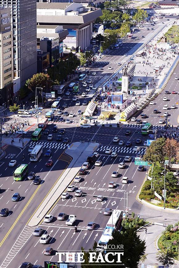 귀경 전쟁 시작, '서울 도심도 차량 증가'