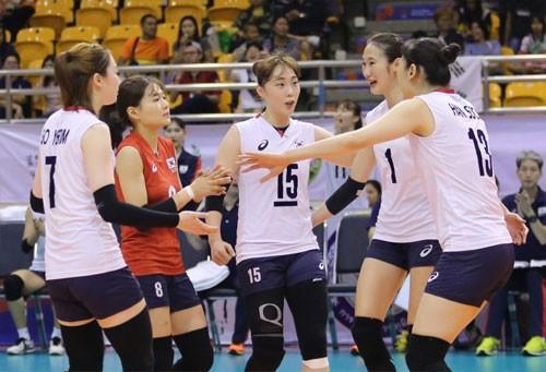여자배구, AVC컵 6위로 마감…베트남에 0-3 완패