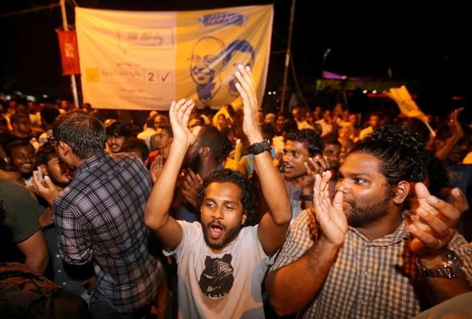 몰디브 야당 후보, 현직 대통령 꺾고 대선 승리