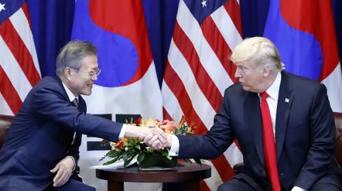 """文대통령 """"北내부에서도 돌릴 수 없을 만큼 비핵화"""""""