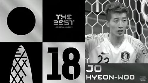 조현우, FIFA 어워즈 슈퍼스타 포함..'올해의 선수'는 모드리치