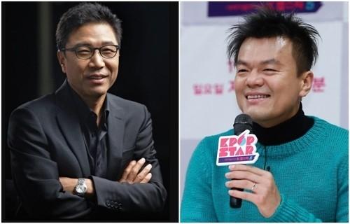 이수만·박진영, 2천억대 연예인 '주식부호' 됐다
