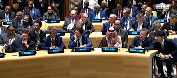 문 대통령, 트럼프 대통령 주최 마약 대응 국제협력 행사 참석