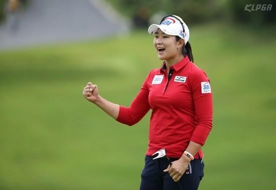 박세리 인비테이셔널, 버디는 즐거운 일...자신감을 보이는 김아림
