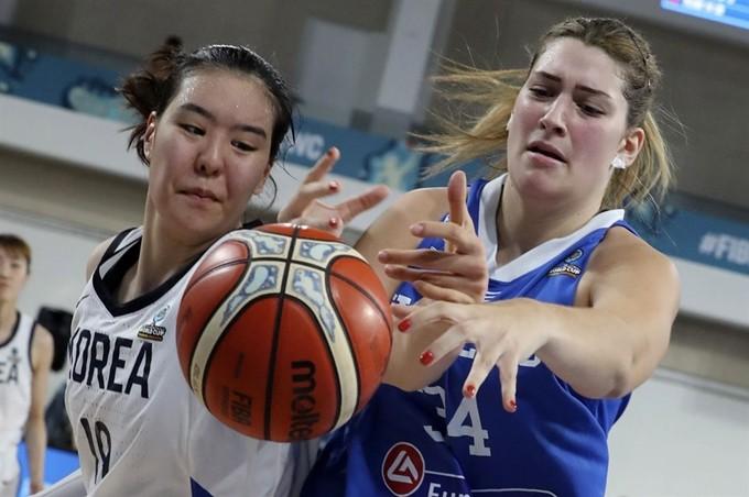 여자농구, 3연패로 월드컵 조별리그 탈락