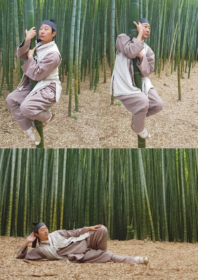"""""""이 정도는 돼야 매력부자""""…김기두 '백일의 낭군님' 유쾌한 촬영 인증샷 공개"""