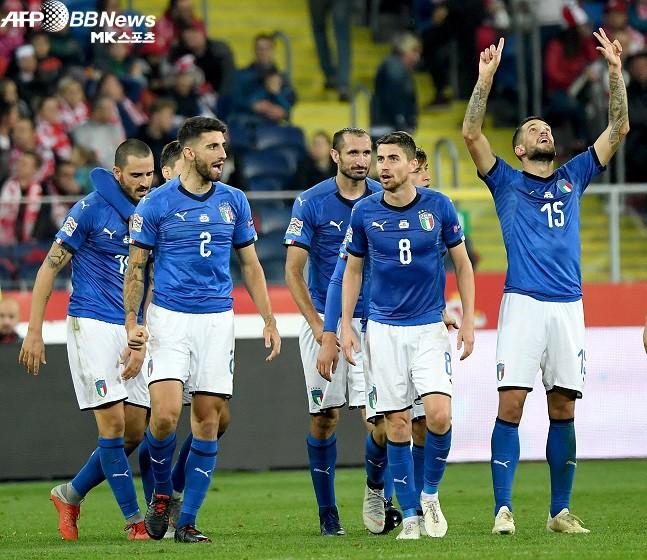 네이션스리그 이탈리아, 폴란드 격파…유럽 무승 끊었다