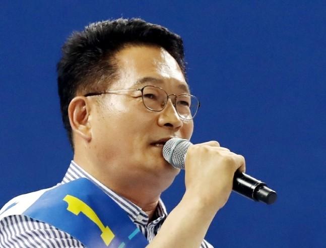 """송영길 """"北, 핵개발로 경제호전…가족주의적 나라"""""""