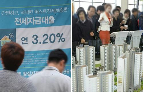 '과잉' 대출·생산성 낮은 가계·부동산…부정적 영향 우려