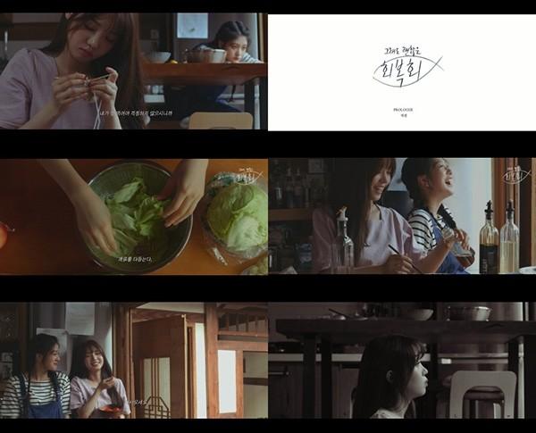 '그래도 괜찮은, 회복회' 프로미스나인 지선 편 공개 '내레이션+영상美까지 완벽'