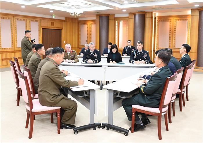 """국방부 """"북·유엔사와 JSA 비무장화 실무문제 협의"""""""